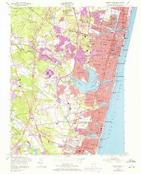 Download a high-resolution, GPS-compatible USGS topo map for Asbury Park, NJ (1972 edition)