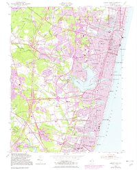 Download a high-resolution, GPS-compatible USGS topo map for Asbury Park, NJ (1982 edition)