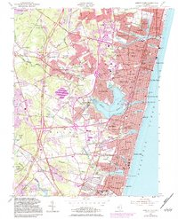 Download a high-resolution, GPS-compatible USGS topo map for Asbury Park, NJ (1983 edition)
