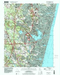 Download a high-resolution, GPS-compatible USGS topo map for Asbury Park, NJ (2001 edition)