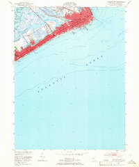 Download a high-resolution, GPS-compatible USGS topo map for Atlantic City, NJ (1966 edition)