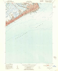 Download a high-resolution, GPS-compatible USGS topo map for Atlantic City, NJ (1955 edition)
