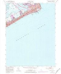 Download a high-resolution, GPS-compatible USGS topo map for Atlantic City, NJ (1984 edition)