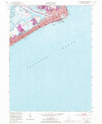 Download a high-resolution, GPS-compatible USGS topo map for Atlantic City, NJ (1973 edition)