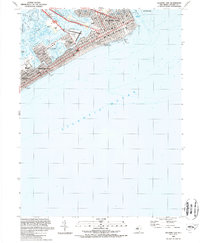 Download a high-resolution, GPS-compatible USGS topo map for Atlantic City, NJ (1989 edition)