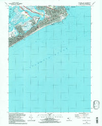Download a high-resolution, GPS-compatible USGS topo map for Atlantic City, NJ (1998 edition)