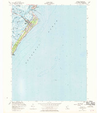 Download a high-resolution, GPS-compatible USGS topo map for Avalon, NJ (1970 edition)