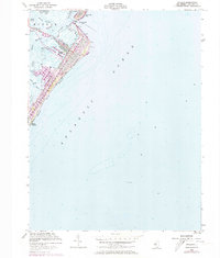 Download a high-resolution, GPS-compatible USGS topo map for Avalon, NJ (1973 edition)