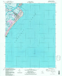 Download a high-resolution, GPS-compatible USGS topo map for Avalon, NJ (1998 edition)