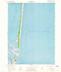Download a high-resolution, GPS-compatible USGS topo map for Barnegat Light, NJ (1964 edition)