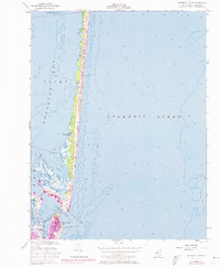 Download a high-resolution, GPS-compatible USGS topo map for Barnegat Light, NJ (1973 edition)