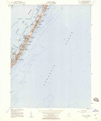 Download a high-resolution, GPS-compatible USGS topo map for Beach Haven, NJ (1960 edition)