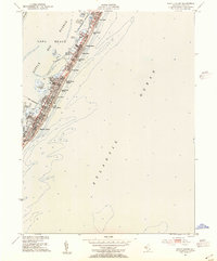 Download a high-resolution, GPS-compatible USGS topo map for Beach Haven, NJ (1954 edition)