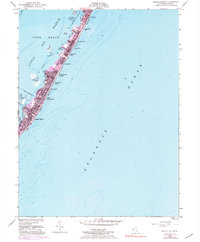 Download a high-resolution, GPS-compatible USGS topo map for Beach Haven, NJ (1984 edition)