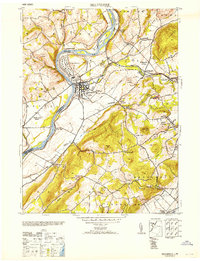 Download a high-resolution, GPS-compatible USGS topo map for Belvidere, NJ (1953 edition)