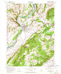 Download a high-resolution, GPS-compatible USGS topo map for Belvidere, NJ (1965 edition)