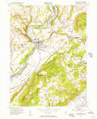 Download a high-resolution, GPS-compatible USGS topo map for Belvidere, NJ (1956 edition)