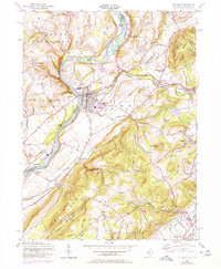 Download a high-resolution, GPS-compatible USGS topo map for Belvidere, NJ (1979 edition)