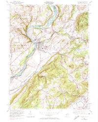 Download a high-resolution, GPS-compatible USGS topo map for Belvidere, NJ (1974 edition)