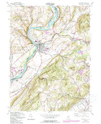 Download a high-resolution, GPS-compatible USGS topo map for Belvidere, NJ (1988 edition)