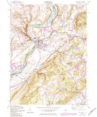 Download a high-resolution, GPS-compatible USGS topo map for Belvidere, NJ (1984 edition)