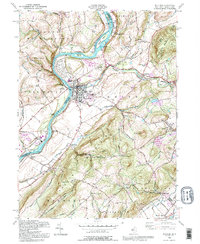 Download a high-resolution, GPS-compatible USGS topo map for Belvidere, NJ (1995 edition)