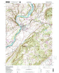 Download a high-resolution, GPS-compatible USGS topo map for Belvidere, NJ (1999 edition)
