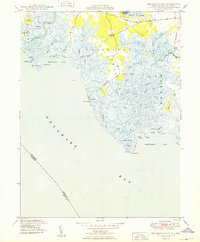 Download a high-resolution, GPS-compatible USGS topo map for Ben Davis Point, NJ (1949 edition)