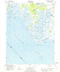 Download a high-resolution, GPS-compatible USGS topo map for Ben Davis Point, NJ (1969 edition)