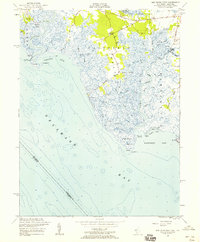 Download a high-resolution, GPS-compatible USGS topo map for Ben Davis Point, NJ (1958 edition)