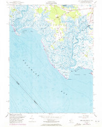 Download a high-resolution, GPS-compatible USGS topo map for Ben Davis Point, NJ (1972 edition)