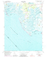 Download a high-resolution, GPS-compatible USGS topo map for Ben Davis Point, NJ (1990 edition)