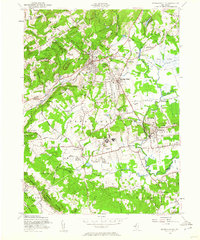 Download a high-resolution, GPS-compatible USGS topo map for Bernardsville, NJ (1960 edition)