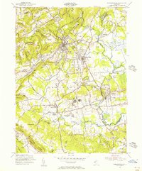 Download a high-resolution, GPS-compatible USGS topo map for Bernardsville, NJ (1956 edition)