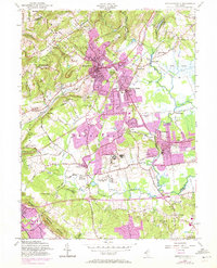 Download a high-resolution, GPS-compatible USGS topo map for Bernardsville, NJ (1972 edition)