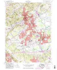 Download a high-resolution, GPS-compatible USGS topo map for Bernardsville, NJ (1984 edition)