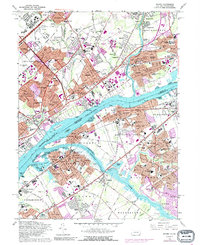 Download a high-resolution, GPS-compatible USGS topo map for Beverly, NJ (1990 edition)