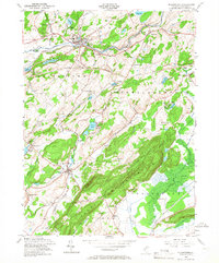 Download a high-resolution, GPS-compatible USGS topo map for Blairstown, NJ (1967 edition)