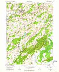 Download a high-resolution, GPS-compatible USGS topo map for Blairstown, NJ (1962 edition)