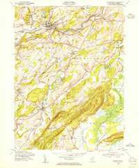 Download a high-resolution, GPS-compatible USGS topo map for Blairstown, NJ (1955 edition)