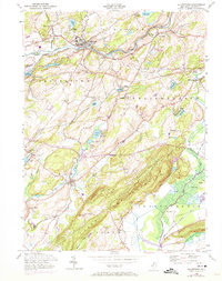Download a high-resolution, GPS-compatible USGS topo map for Blairstown, NJ (1974 edition)