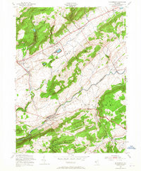 Download a high-resolution, GPS-compatible USGS topo map for Bloomsbury, NJ (1965 edition)