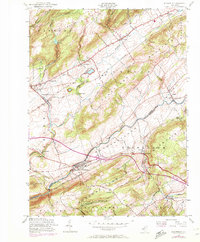 Download a high-resolution, GPS-compatible USGS topo map for Bloomsbury, NJ (1972 edition)