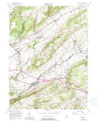 Download a high-resolution, GPS-compatible USGS topo map for Bloomsbury, NJ (1988 edition)