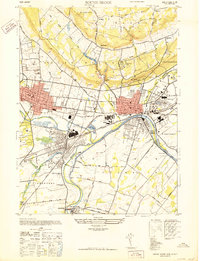 Download a high-resolution, GPS-compatible USGS topo map for Bound Brook, NJ (1947 edition)