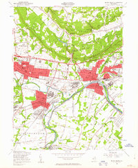 Download a high-resolution, GPS-compatible USGS topo map for Bound Brook, NJ (1963 edition)