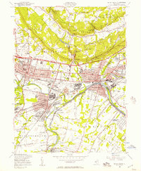 Download a high-resolution, GPS-compatible USGS topo map for Bound Brook, NJ (1957 edition)