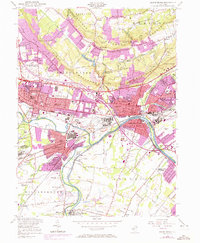 Download a high-resolution, GPS-compatible USGS topo map for Bound Brook, NJ (1972 edition)