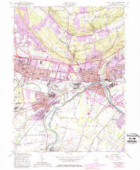 Download a high-resolution, GPS-compatible USGS topo map for Bound Brook, NJ (1980 edition)