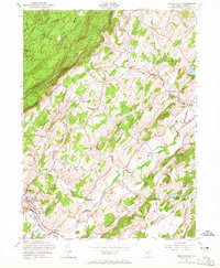 Download a high-resolution, GPS-compatible USGS topo map for Branchville, NJ (1965 edition)